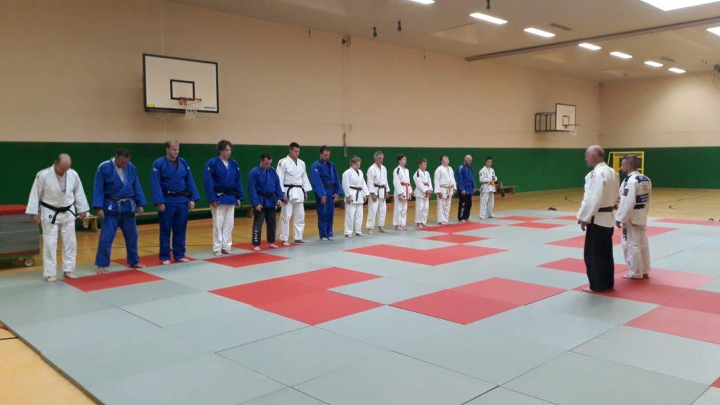 Ferien-Judo-Training in Friedrichsfeld