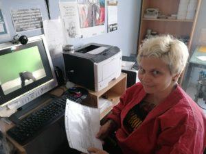 Online Gürtelprüfung der Damen Selbstverteidigungsgruppe des SV Friedrichsfeld