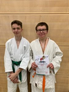 Tilo Wentzel Bezirksmeister Judo U 15